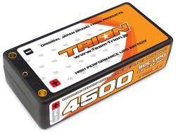 TRION Li-Po Battery 4500mAh/7.4V/90C Shorty [TB-4500ST]
