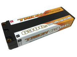 TRION Li-Po Battery 6300mAh/7.4V/100C Reversibe 5mm(46.6Wh) [TB-6300HV5]