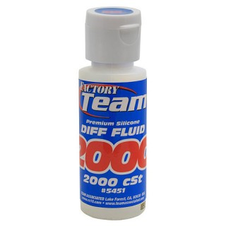 ASSOCIATED Factory Team Silicone Diff Fluid 2000 cSt [No.5451]]