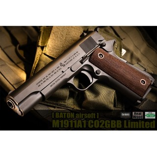 BATON M1911A1 CO2GBB Limited [BAS-97013]]